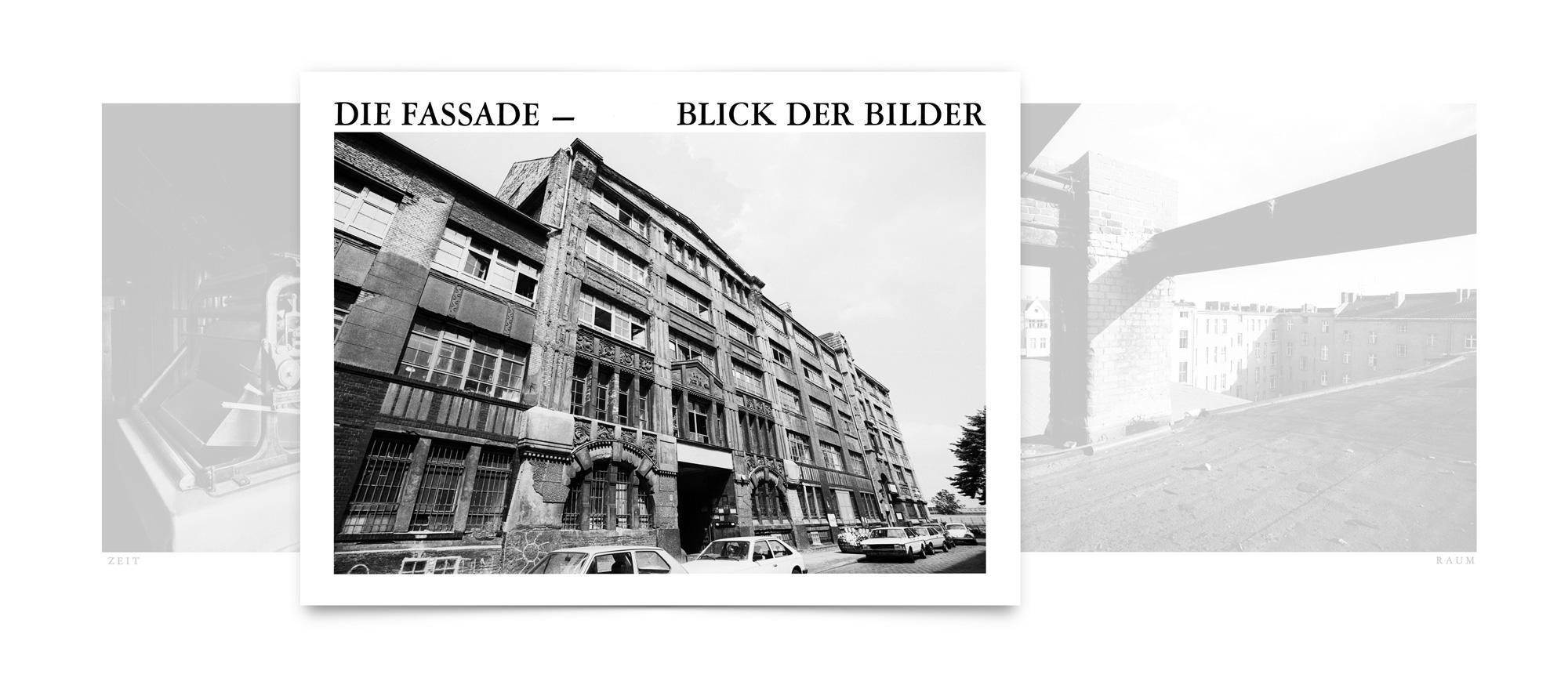 Bild-Text-Projekt: Die Fassade - Blick der Bilder