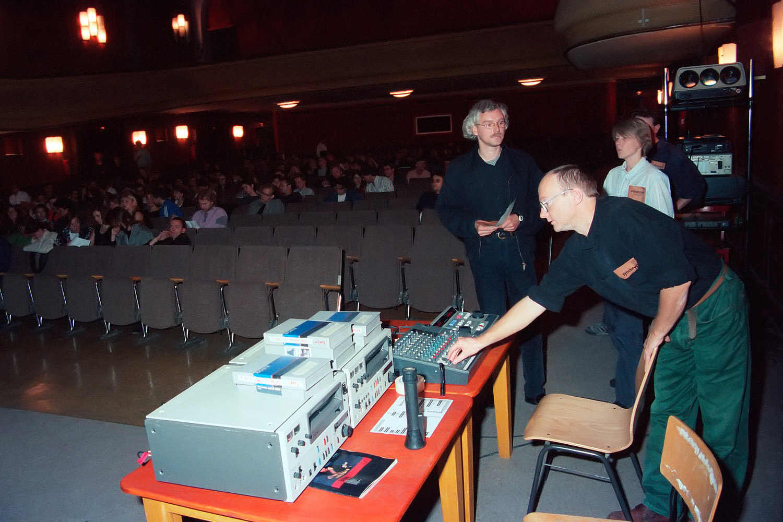 Born, Lingnau, Heine, Aufführung, Kino Babylon Berlin, 1993
