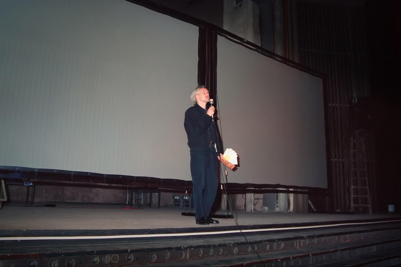 Einführung Jochen Lingnau, Kino Babylon Berlin 1993