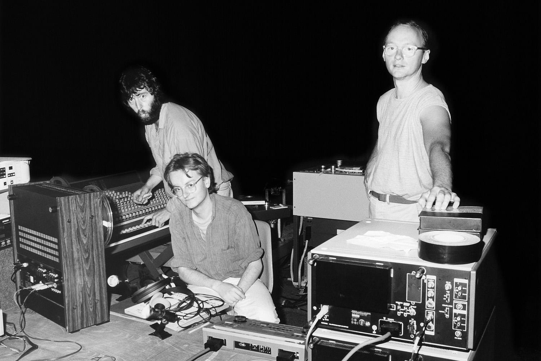 Audio- und Videosteuerung für die Aufführung beim Festival «Berlin E88, Audio-Werkstatt» in der Kongreßhalle Berlin 1988