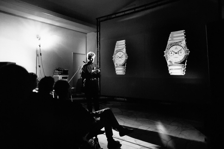 Bildmaschinen und Erfahrung, Performance mit Adam Boome