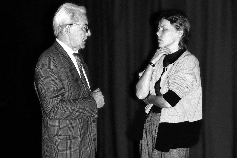 Bildmaschinen und Erfahrung, Prof. Dr. Duehlen im Gespräch mit Anna Elisa Heine