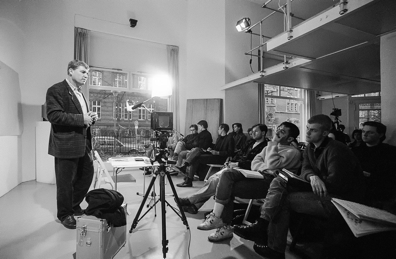 Fotografievorlesung an der bildo akademie mit Roman Franke