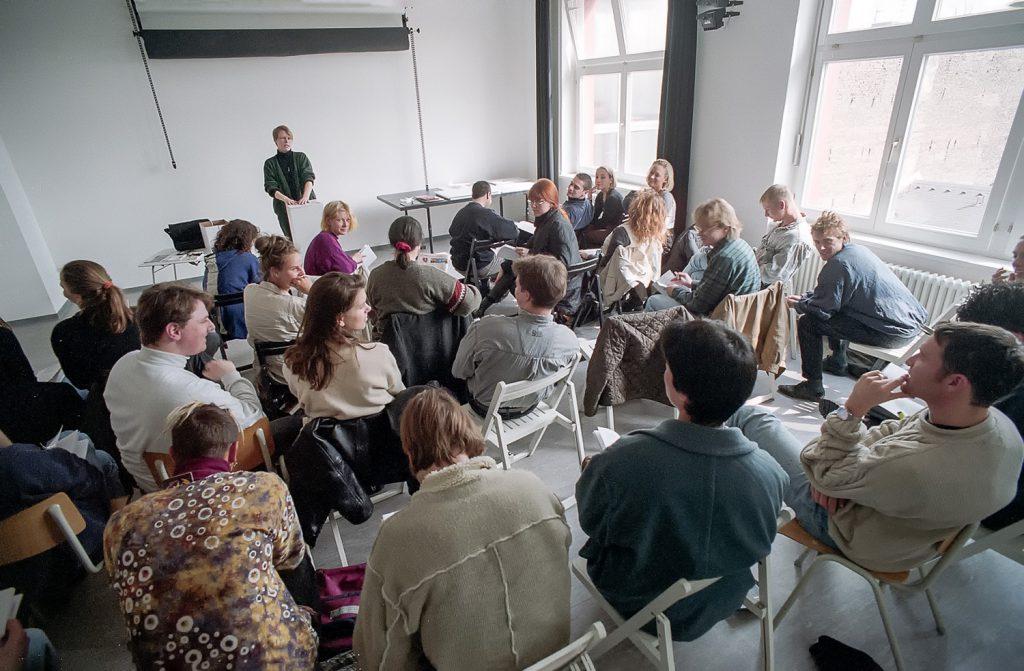 Seminar in der bildo akademie mit Anna Elisa Heine